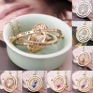 Jewelry - New Hermione Granger Rotating Time Turne necklace
